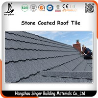 50Years Guaranteed Color Stone Coated Roof Tile Building Material
