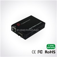 Mini SFP Fiber Optic Media Converter , Single Mode SFP Media Converter