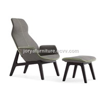 Ventura Lounge Armchair Poliform Leisure Chair Modern Living Room Chair Wooden Armchair Hot Sale