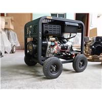 5kw dual diesel generator 5kva dual diesel generator 5kva 1 phase /3 phase diesel generator