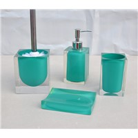 Bathroom Shower Accessories / Polyresin Bathroom Coordinate Sets