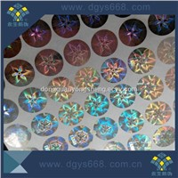 color changing reflective hologram adhesive sticker printing