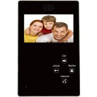 "Multi-apartment/villa 4.3"" tft color display video door phone with remote door release"