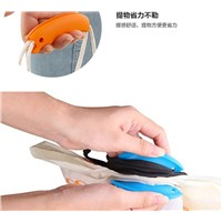 Eco-friendly silicone handle shopping bags handle portable device