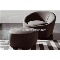 Single Seat Sofa Fabric Leisure Sofa Chair Personal Sofa Chair Leather Office Sofa