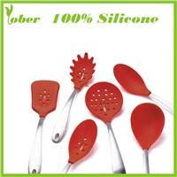 100% Bakeware Silicone Spoon Silicone Spatula