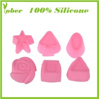 100% Silicone Cake Molds