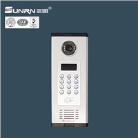 Wired house voice intercom system door phone unlock for home