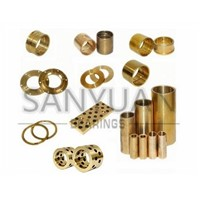 Copper Sleeves Brass Guide Bush Bronze Wear Plate Thrust Washer Oilless Bush Bearing