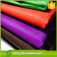 100% virgin pp spunbond non woven/China non flammable material spunbonded fabric