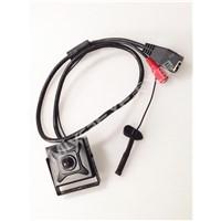720P HD ATM Pinhole IP Camera, IP Micro Camera Pinhole Lens