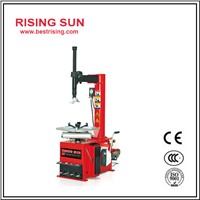 Semi automatic swing arm tire changer for car workshop