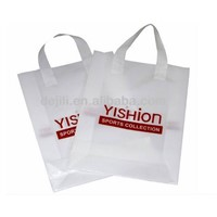 carrying flexi loop plastic handle bag
