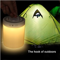 Magic Touch Sensor Color Changing Bluetooth Camping Lamp Speaker