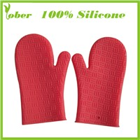 100% Silicone Oven Mitts