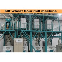 100T Per 24Hours Wheat Flour Milling Machine