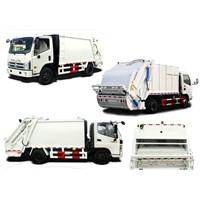 Ruvii 6m3 Compactor Garbage / Garbage Collector/ Waste collector Truck