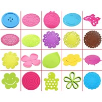 Top Selling Promotion customized heat resistance silicone coaster