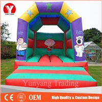 Hot used commercial inflatable kids jumping castle for sale
