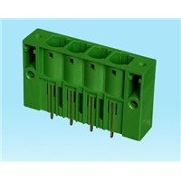 7.62mm pitch Plug type terminal socket for power system and its automation