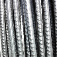 hot rolled steel rebar, deformed bar, reinforced bar from China