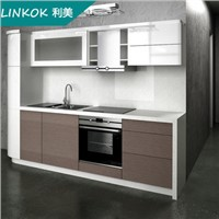 French style smart kitchen furniture cabinets design