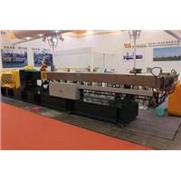 High torque 600rpm PVC extrusion machine /PVC twin screw extruder for granules