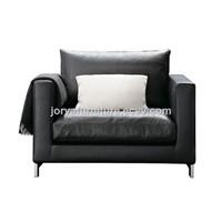 Mordern Style Leather Sofa Chair High Quality Fabric Sofa Single-Seat Sofa Leisure Sofa Chair