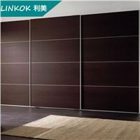 Factory made laminate bedroom sliding 3 door wardrobe designs prices