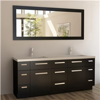 E1 Particleboard / Plywood / MDF custom plastic luxury vintage bathroom cabinets