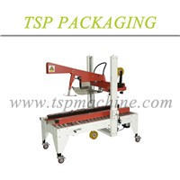Automatic packaging paper carton box folder and tape sealer machine AS-423