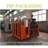 1-5L HDPE/LDPE PP Bottle Extrusion Blowing Plastic Container Making Machine Single Station TSP-65