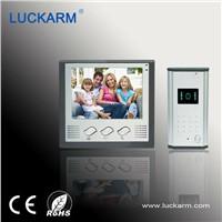 "7"" TFT color screen unlock monitor talk video door phone intercome"