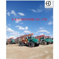 HD-T300 Truck Mounted Integrated Multi-functional Drilling Rig