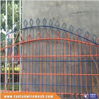 PVC coated double wire fencing
