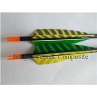 carbon fiber arrow, archery arrow