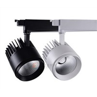 40W COB LED Track light for Brand clothes Shop Main Lighting