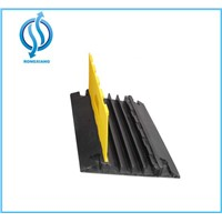 Rubber heavy duty cable protector 4 channels