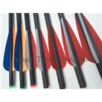 7.5mm carbon fiber arrow, carbon hunting arrow