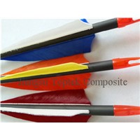 archery hunting arrow, carbon fiber arrow, carbon archery arrow