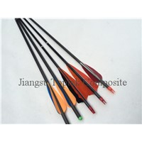 hunting carbon arrow, arrow for archery, carbon fiber arrow