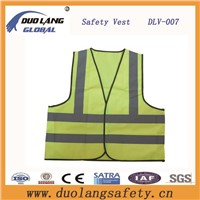 New Fashion Hi-VI Reflective Safety Vest with Flu Colors
