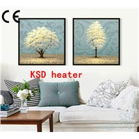 wall mounted electric heaters electric wall picture heater