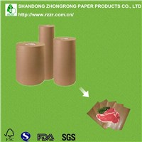 PE coated paper for butcher wrapping