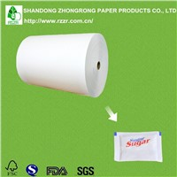 PE coated white kraft paper for sugar packaging