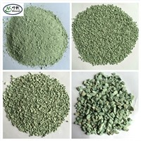 High CEC Natural Green  Zeolite clinoptilolite as growing media for Agriculture
