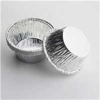 Disposable Aluminum Foil Cups Muffin Cupcake Tin
