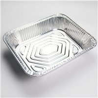 Household aluminium food container/pans/trays