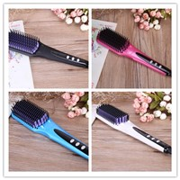 LCD Display and Ce/ETL Certification Hair Straightener Brush
