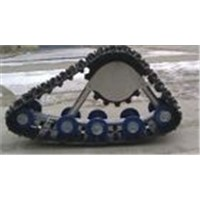 Py-300A Black Rubber Track System for ATV/UTV etc.